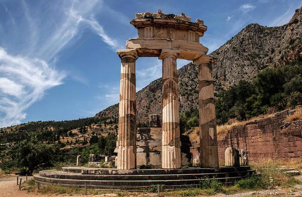 Photograph - Ruins Of Tholos Temple by Jaroslaw Blaminsky