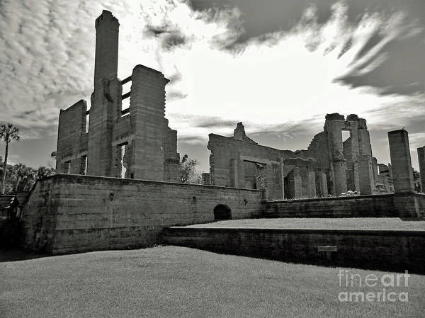 Photograph - Ruins To The Sky by D Hackett