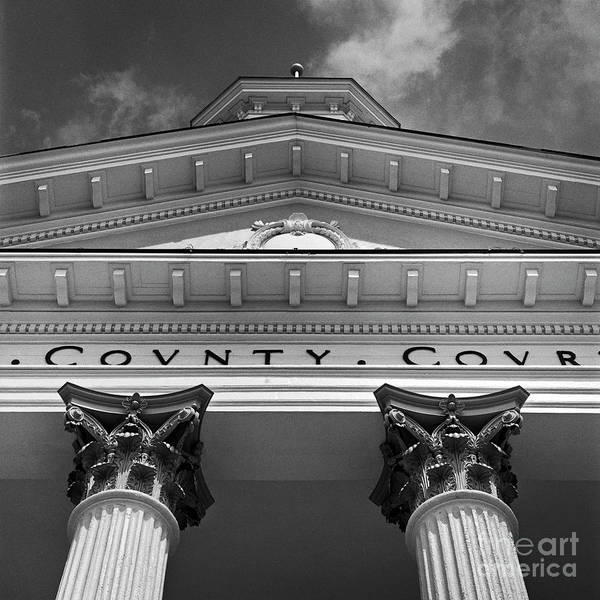 Courthouse Towers Wall Art - Photograph - Rule Of Law 2 by Patrick M Lynch