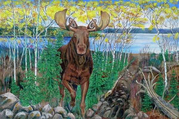 Painting - RUN by Joe Baltich