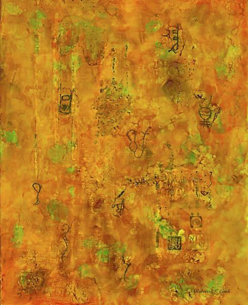 Painting - Runes by Bellesouth Studio