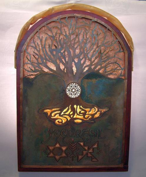 Mixed Media - Runes For Restoration Illuminated by Shahna Lax
