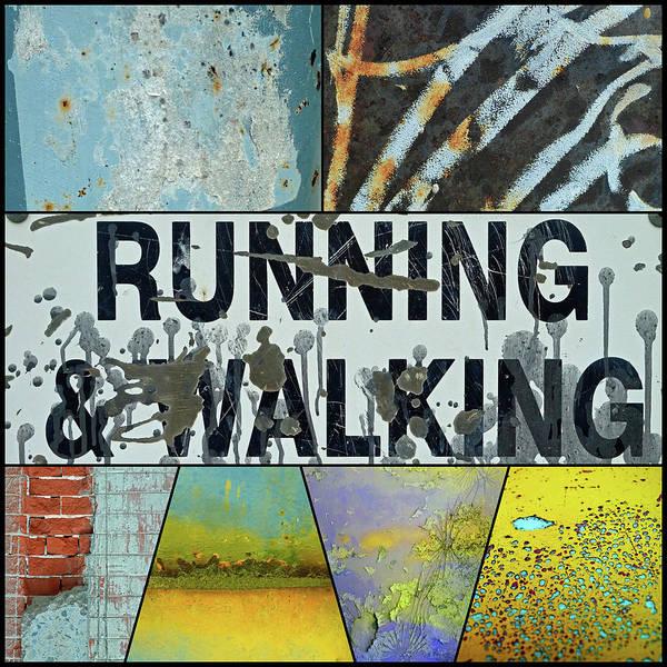 Wall Art - Photograph - Running And Walking by Tara Turner