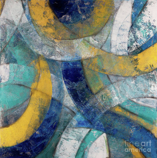Wall Art - Painting - Running In Circles by Kirsten Reed