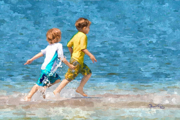 Photograph - Running On Water by Susan Molnar