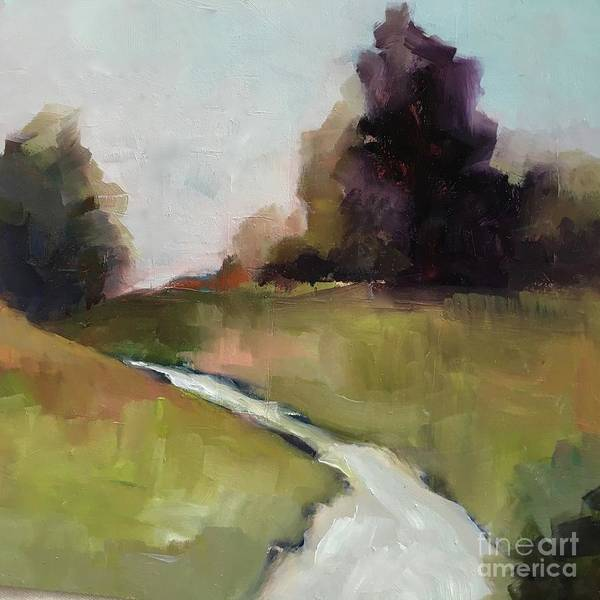 Painting - Running Stream by Michelle Abrams