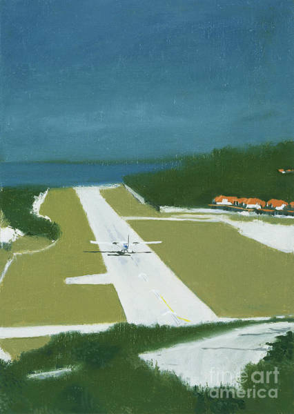 Transport Painting - Runway by Alessandro Raho