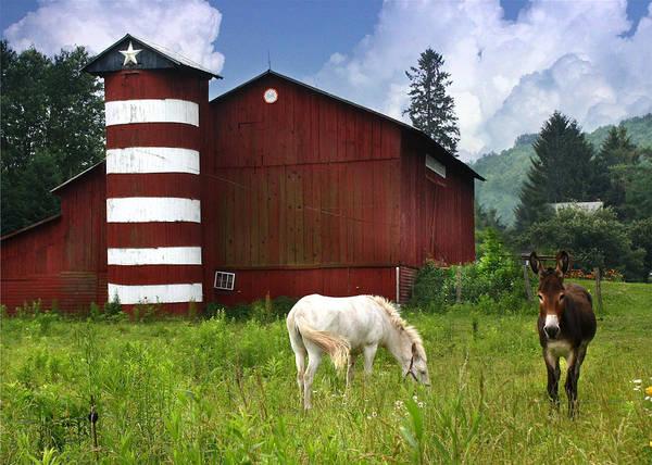Pennsylvania Barn Photograph - Rural America by Lori Deiter