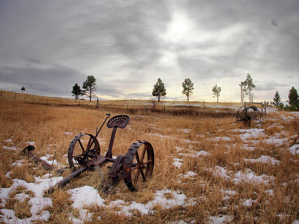 Excellent Wall Art - Photograph - Rural And Ranch by Leland D Howard