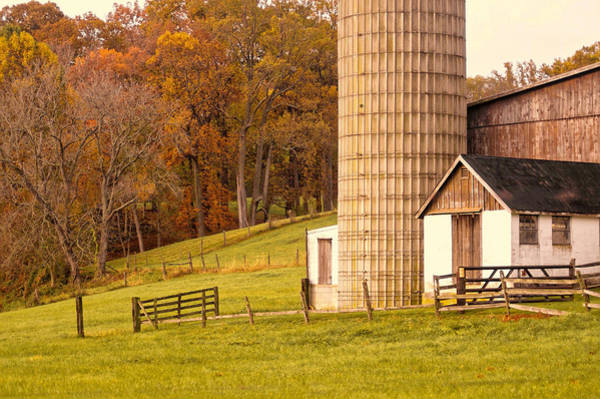 Photograph - Rural Chester County, Pa by Susan Maxwell Schmidt