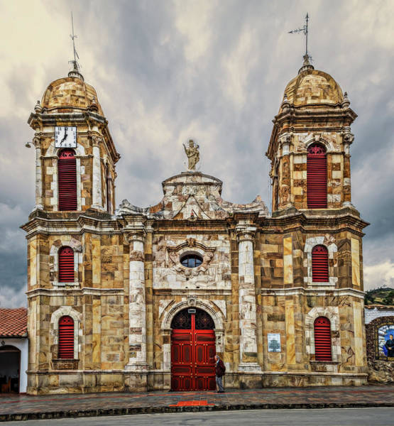 Boyaca Photograph - Rural Church by Maria Coulson