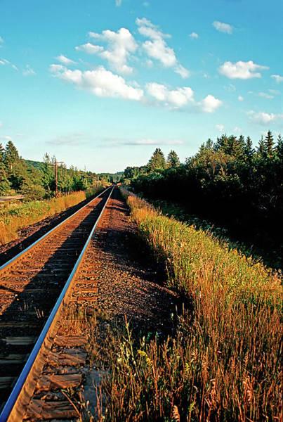 Rural Country Side Train Tracks Art Print