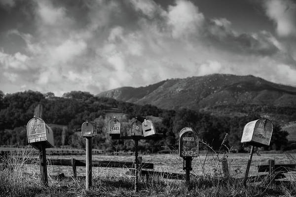 Mailbox Photograph - Rural Delivery by Joseph Smith