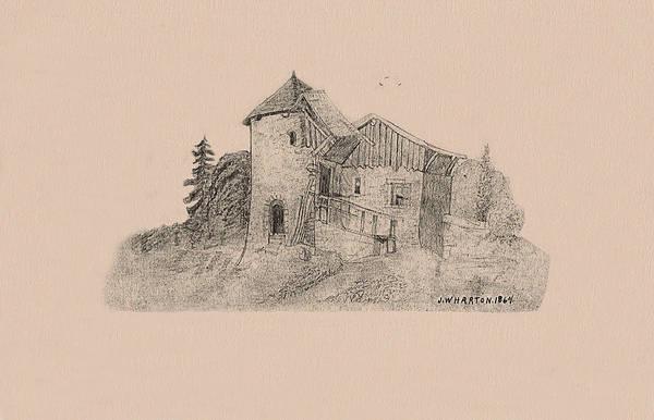 Rural English Dwelling Art Print