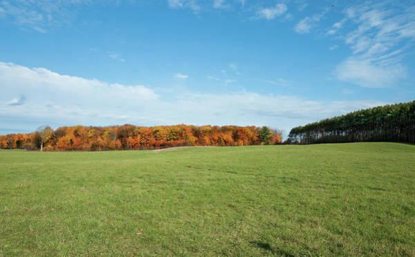 Digital Art - Rural Fall Fields by JGracey Stinson