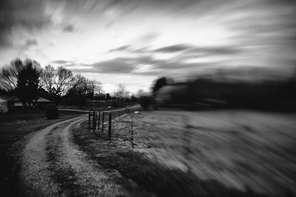 Photograph - Rural Farm Driveway Revisited by Ben Shields