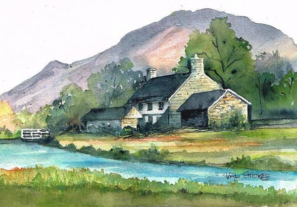 Painting - Rural Life by Val Stokes