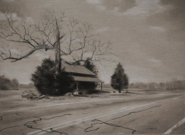 Painting - Rural Nc by Christopher Reid