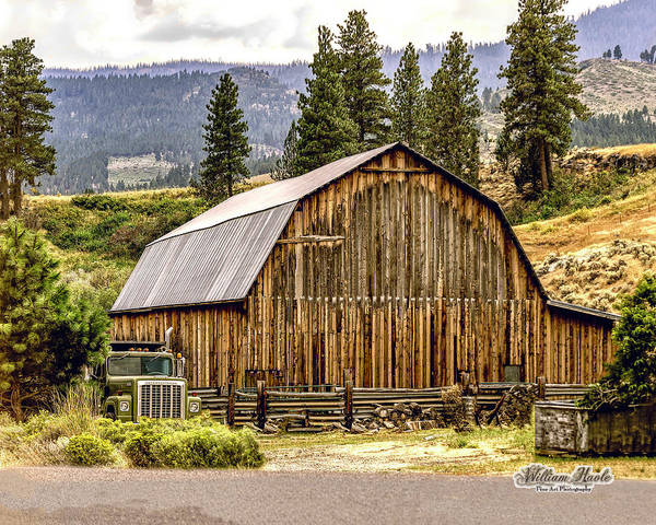 Photograph - Rural Oregon Barn by William Havle
