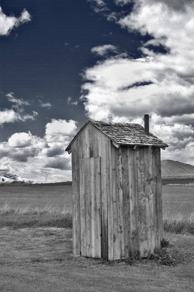 Wall Art - Photograph - Rural Outhouse 2 by Steve Ohlsen