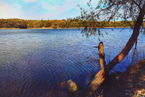 Photograph - Rural Reservoir by Anna Louise
