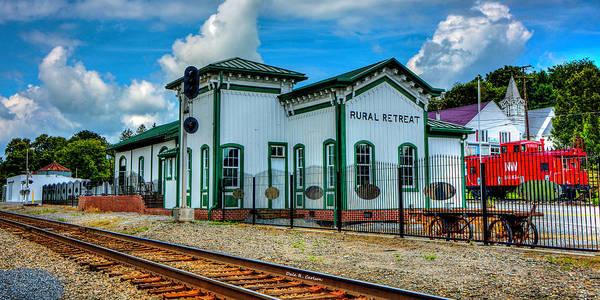Photograph - Rural Retreat Depot by Dale R Carlson
