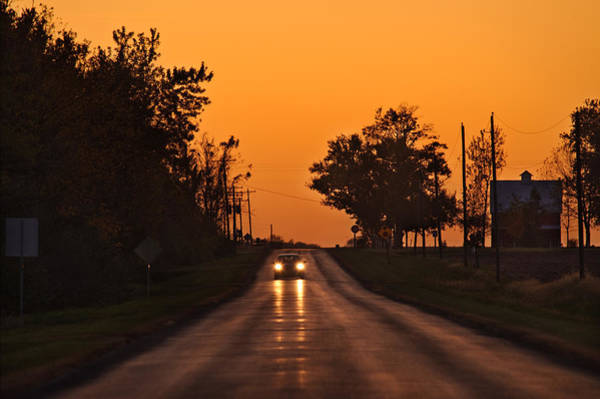 Rural Photograph - Rural Road Trip by Steve Gadomski
