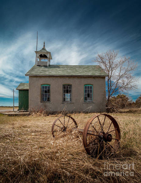 Photograph - Rural School by Roger Monahan