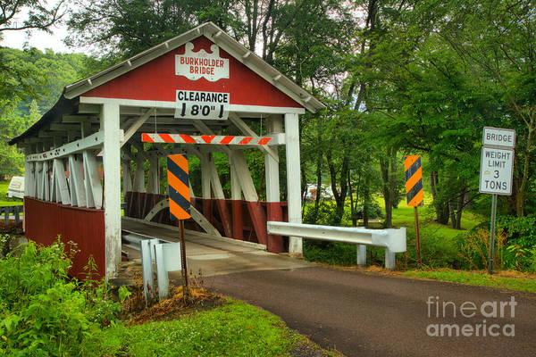 Garrett County Wall Art - Photograph - Rural Somerset Burkholder Bridge by Adam Jewell