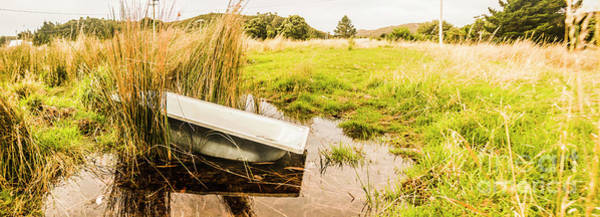 Tub Wall Art - Photograph - Rural Tasmania Farm Scene by Jorgo Photography - Wall Art Gallery