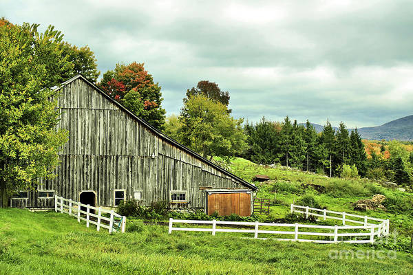 Photograph - Rural Vermont Gem by Deborah Benoit