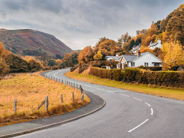 Photograph - Rural Wales In Autumn by Nick Bywater
