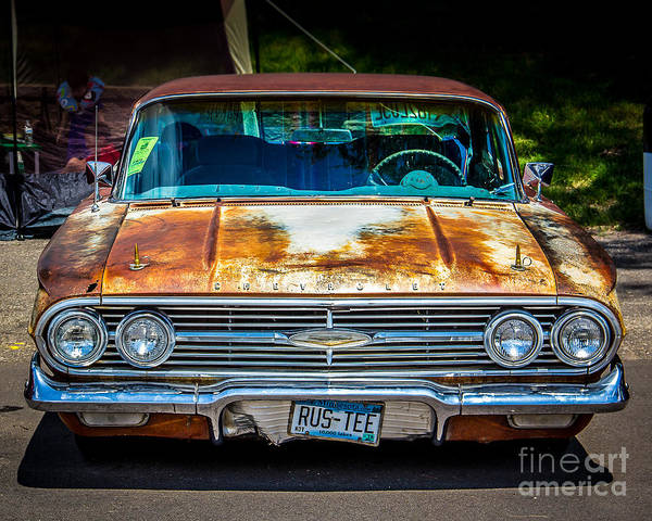 Wall Art - Photograph - Rus-tee by Perry Webster