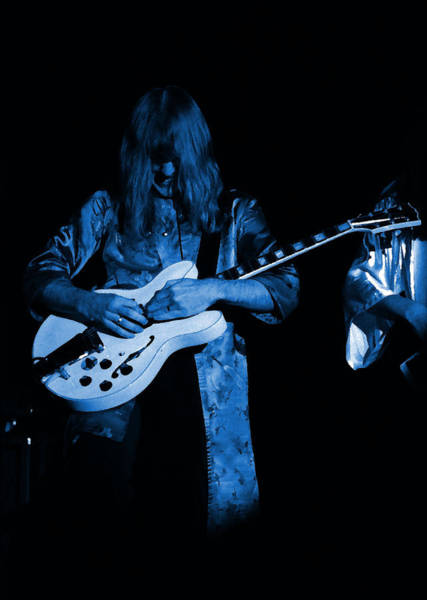 Photograph - Rush 77 #10 Enhanced In Blue by Ben Upham