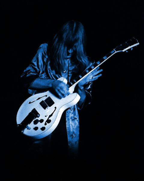 Photograph - Rush 77 #15 Enhanced In Blue by Ben Upham