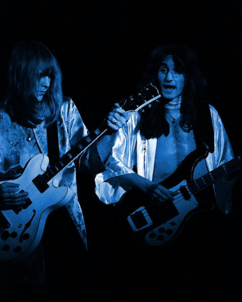 Photograph - Rush 77 #46 Enhanced In Blue by Ben Upham