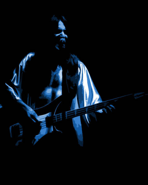 Photograph - Rush 77 #56 Enhanced In Blue by Ben Upham