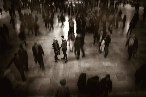 Photograph - The Conversation by Jessica Jenney