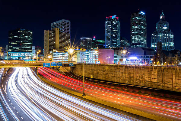 Photograph - Rush Hour In Hartford, Ct by Mihai Andritoiu