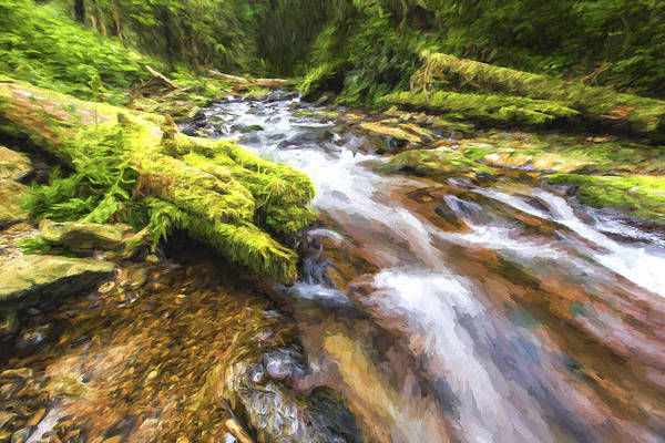 Beautiful Scenery Digital Art - Rush Rush II by Jon Glaser
