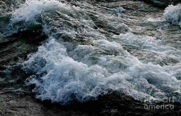 Photograph - Rushing Bubbling Waters Of The Niagara River by Rose Santuci-Sofranko