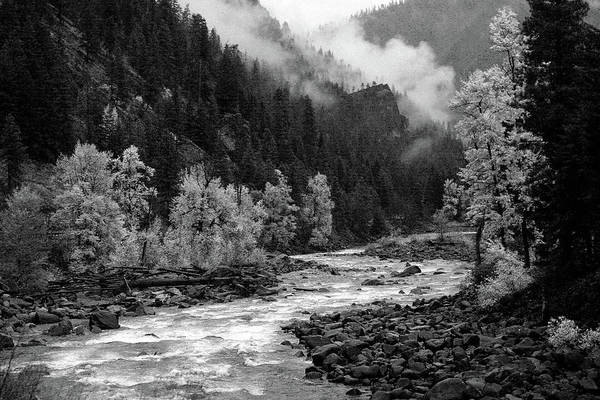 Photograph - Rushing River by Jenny Mead