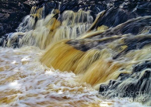 Photograph - Rushing Water by Martyn Arnold