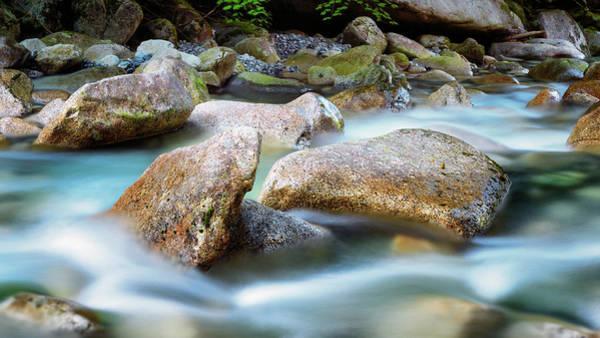 Shannon Falls Wall Art - Photograph - Rushing Water by Stephen Stookey