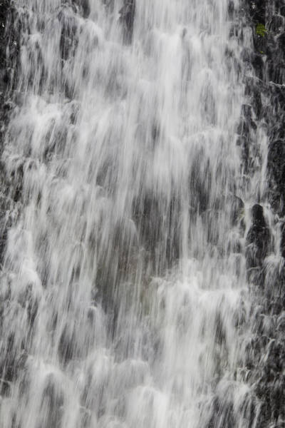 Table Mountain Wall Art - Photograph - Rushing Waterfall by Garry Gay