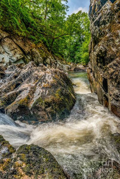 Coed Photograph - Rushing Waters  by Adrian Evans