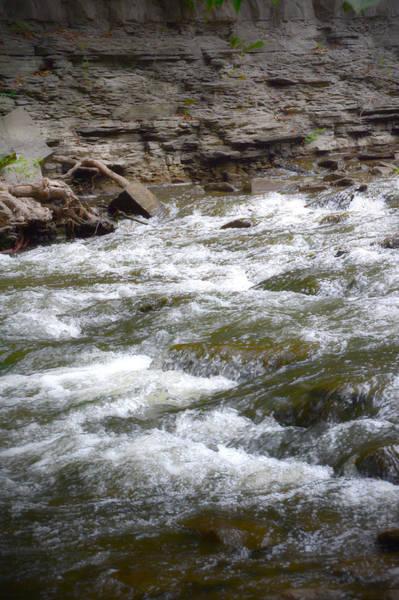 Photograph - Rushing Waters by Judy Hall-Folde