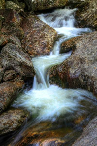 Photograph - Rushing Waters Of The Smoky Mountains by Carol Montoya