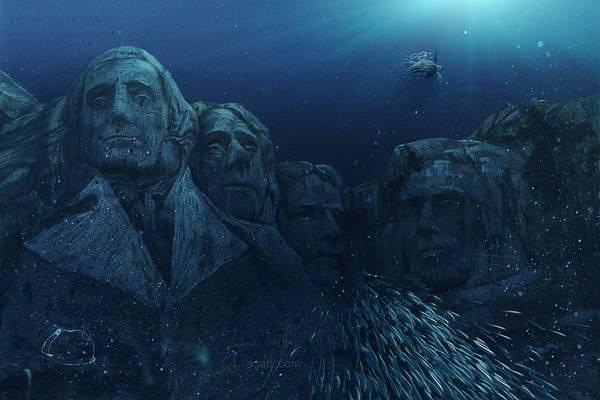Ocean Scape Digital Art - Rushmore by Andrea Gatti