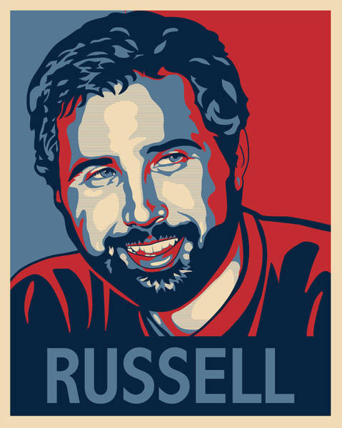 Digital Art - Russell by Sue  Brehant